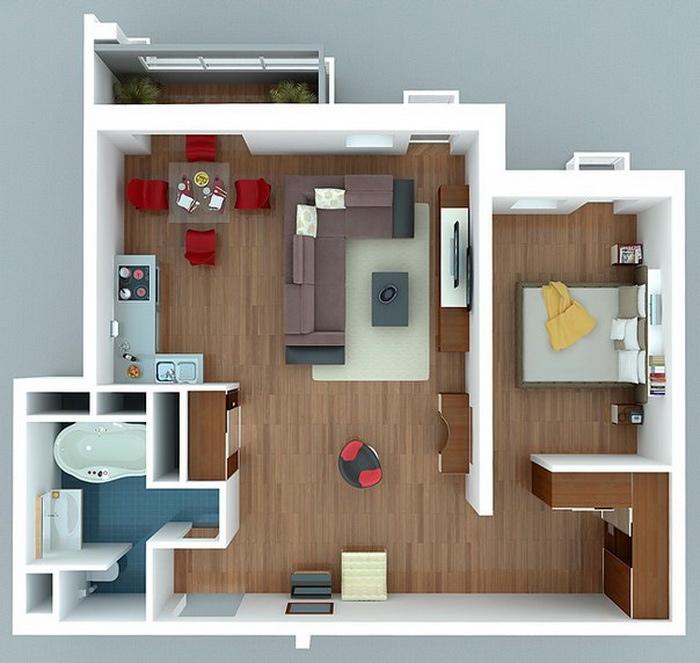 Small Apartment: Eva's Blog: My Top 10 Small Apartments Tricks
